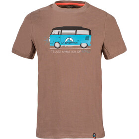 La Sportiva Van Shortsleeve Shirt Men brown